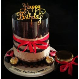 Extra Chocolate Pull Me Up Cake-1 Kg