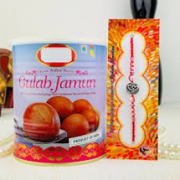 Gulabjamun With Rakhi