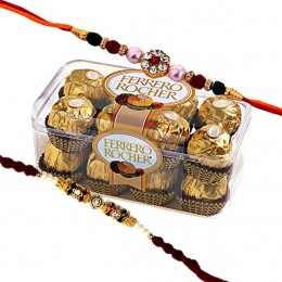 Ferrero With Rakhi