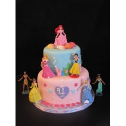 Disney Princess Cake-4 Kg