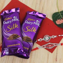 Rakhi With Silk